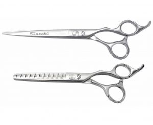 Futasuji 7.0″ Hair Scissors & Ishizuki 11t Thinning Shears