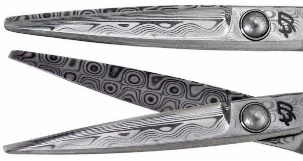 Sakura 5.5″ Damascus Steel Hair Cutting Scissors Shears