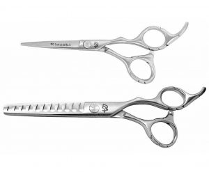Futasuji 5.0″ Hair Scissors & Ishizuki 11t Thinning Shears