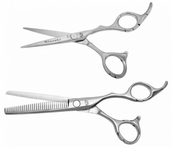 Futasuji 5.0″ Hair Scissors & Ishizuki 32t Thinning Shears