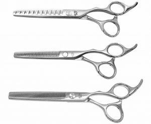 Ishizuki 11 tooth 32 tooth & 60 tooth 3 Thinning Shears Combo