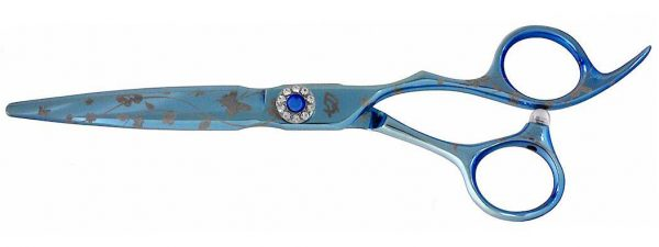 Asashi 6.0″ Hair Scissors Light Blue Titanium Hair Shears