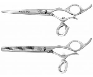 Tarumi 6.0″ & Dukuri 30 tooth Hair Scissors Swivel Set