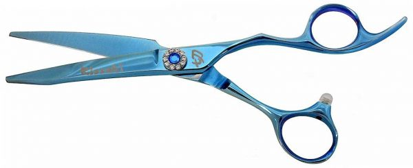 Hakikake 6.0 Hair Scissors Light Blue Titanium Hair Shears