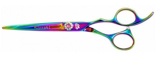 Niki-Dori 6.0″ Hair Scissors Rainbow Titanium