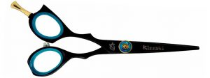 Sensuki L 5.0″ Left Handed Hair Scissors Black B Titanium