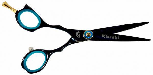Sensuki L 5.5″ Left Handed Hair Scissors Black B Titanium