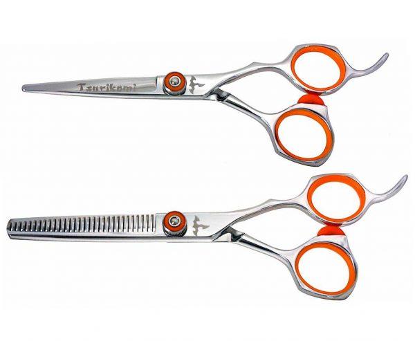 Tsurikomi KT10 5.5″ Hair Scissors & 30 tooth Thinning Shears Set