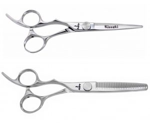 Kissaki KT Series 17L 5.5″ & 18L-30 tooth Left Handed Hair Shears Set