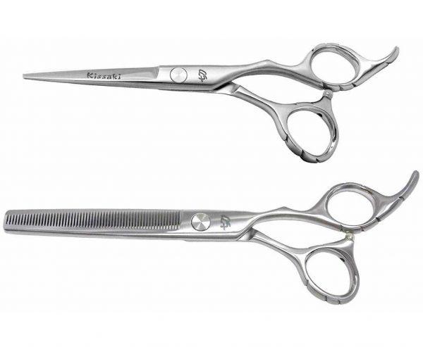 Futasuji 5.5″ Hair Scissors & Ishizuki 60t Thinning Shears