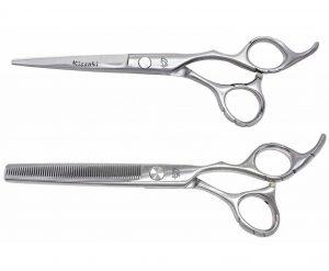 Futasuji 6.0″ Hair Scissors & Ishizuki 60t Thinning Shears