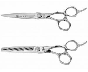 Hiraniku 6.0″ Hair Shear & Hamon 26t Thinning Shears