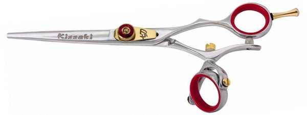 Gokatana 6.0″ SLV R Double Swivel Hair Scissors