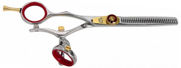 Kanagawa L 30 tooth R Left Handed Thinning Shears Double Swivel