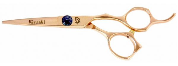 Kiwame 5.5″ Rose Gold Hair Scissors VG-10 Super Steel Cobalt