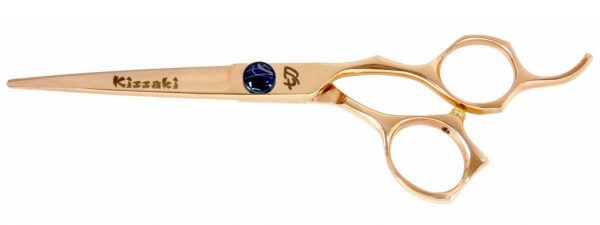 Kiwame 6.0″ Rose Gold Hair Scissors VG-10 Super Steel Cobalt
