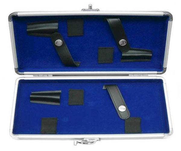 Diamond Pattern Multi Hair Shears & Hair Razor Case