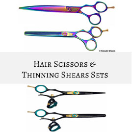 Hair Scissors & Thinning Shears Matching Sets