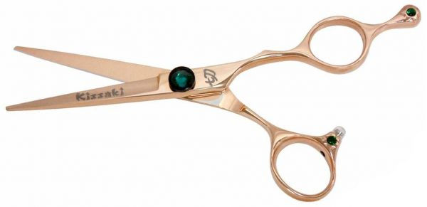 Tsuchi 5.5″ Hair Scissors Rose Gold Titanium Hair Shears