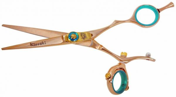 Gokatana 5.5″ Hair Scissors Double Swivel Rose Gold B Titanium