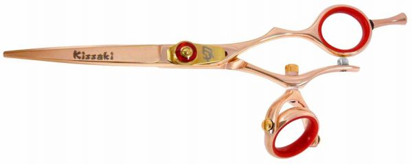Gokatana 6.0″ Hair Scissors Double Swivel Rose Gold R Titanium