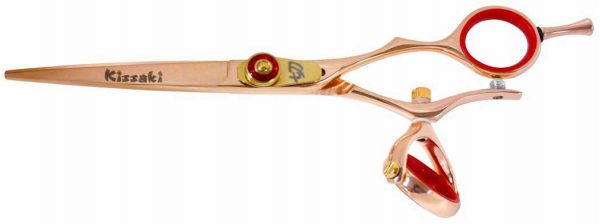 Gokatana 6.0″ Hair Scissors Double Swivel Rose Gold R Titanium