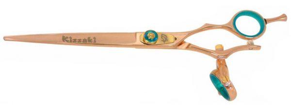 Gokatana 7.0″ Hair Scissors Double Swivel Rose Gold B Titanium
