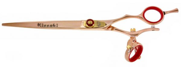 Gokatana 7.0″ Hair Scissors Double Swivel Rose Gold R Titanium