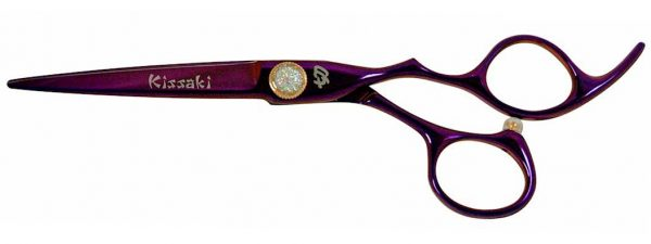 Tyouji 6.0″ Hair Scissors Purple Titanium Hair Cutting Shears