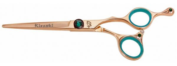 Tsuchi 6.0″ Hair Scissors Rose Gold Titanium Hair Shears