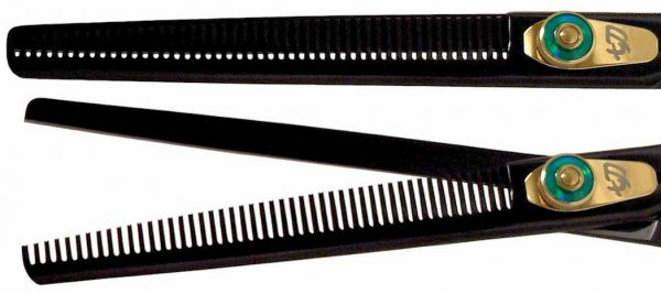 Nagasa 48 tooth Black B Titanium Hair Thinning Shears