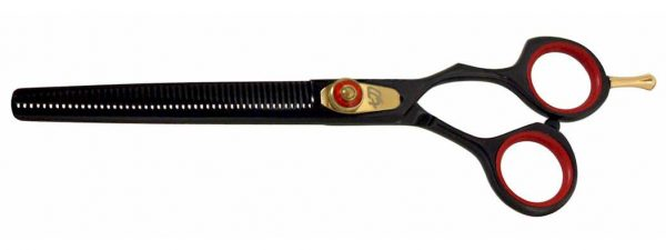 Nagasa 48 tooth Black R Titanium Hair Thinning Shears
