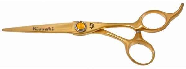 Shobu 6.0″ Hair Scissors Gold Titanium Hair Cutting Shears