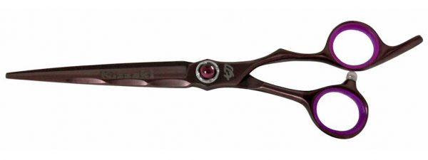 Ryu-Jin 7.0″ Hair Scissors Black Cherry Titanium Hair Cutting Shears