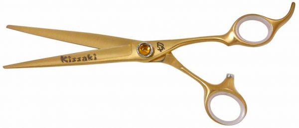 Shobu 7.0″ Hair Scissors Gold Titanium Hair Cutting Shears