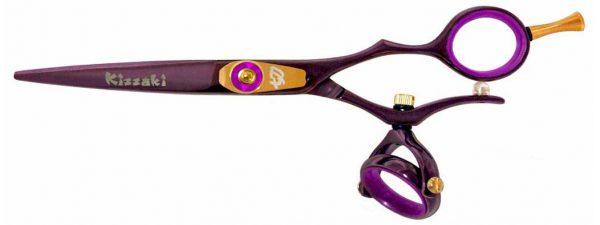 Gokatana 5.5″ Hair Scissors Double Swivel Black Cherry P Titanium