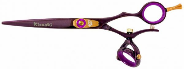 Gokatana 6.0″ Hair Scissors Double Swivel Black Cherry P Titanium