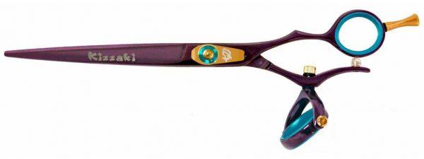 Gokatana 7.0″ Hair Scissors Double Swivel Black Cherry B Titanium
