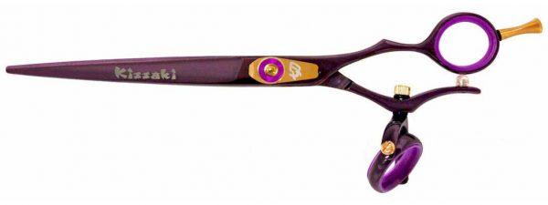 Gokatana 7.0″ Hair Scissors Double Swivel Black Cherry P Titanium