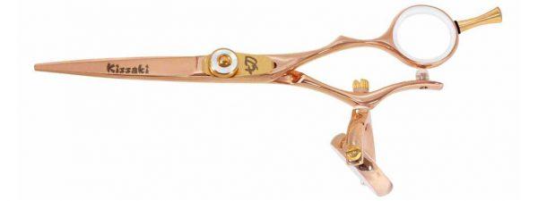 Gokatana 5.5″ Hair Scissors Double Swivel Rose Gold W Titanium