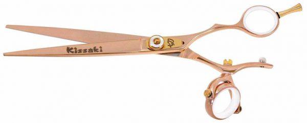 Gokatana 7.0″ Hair Scissors Double Swivel Rose Gold W Titanium