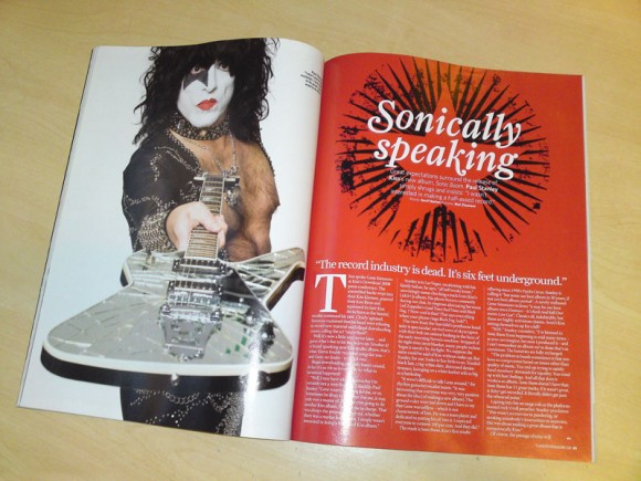 Classic Rock October 2009, Paul Stanley