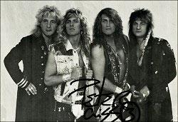 Peter Criss med bandet The Keep.