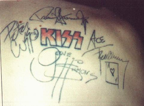 KISS Asylum KISS Army Online Fan Focus  KISS MY TATTOO
