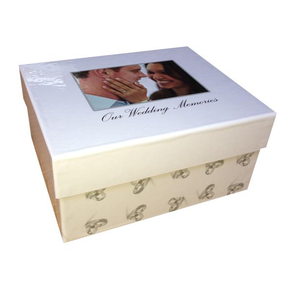 box medium wedding memory