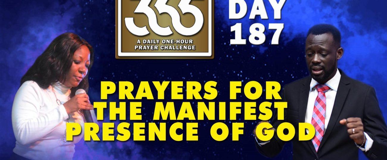 Manifest Presence – MFC 365 – Day 187