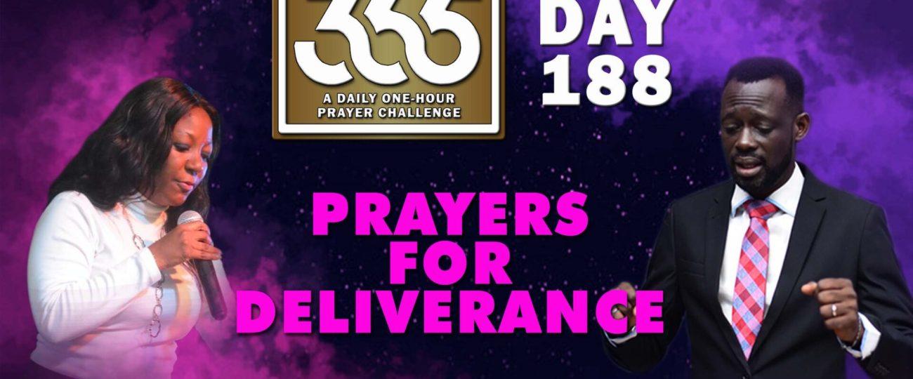 Deliverance – MFC 365 – Day 188