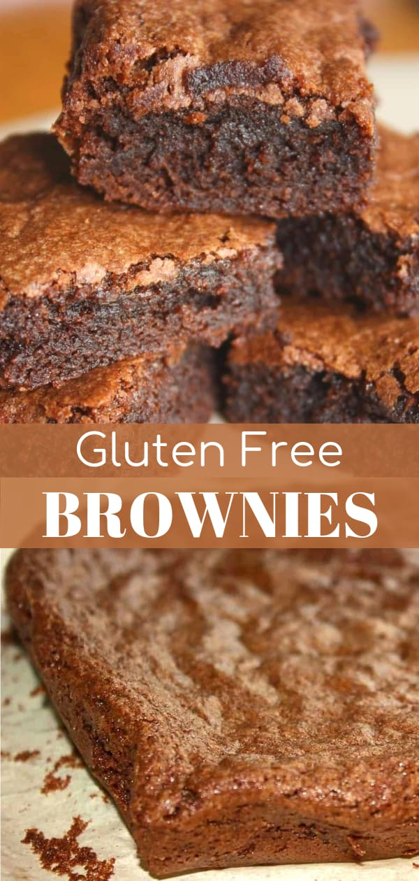 Gluten Free Brownies | These chewy chocolate brownies are a decadent treat if you have been avoiding desserts due to a gluten intolerance.