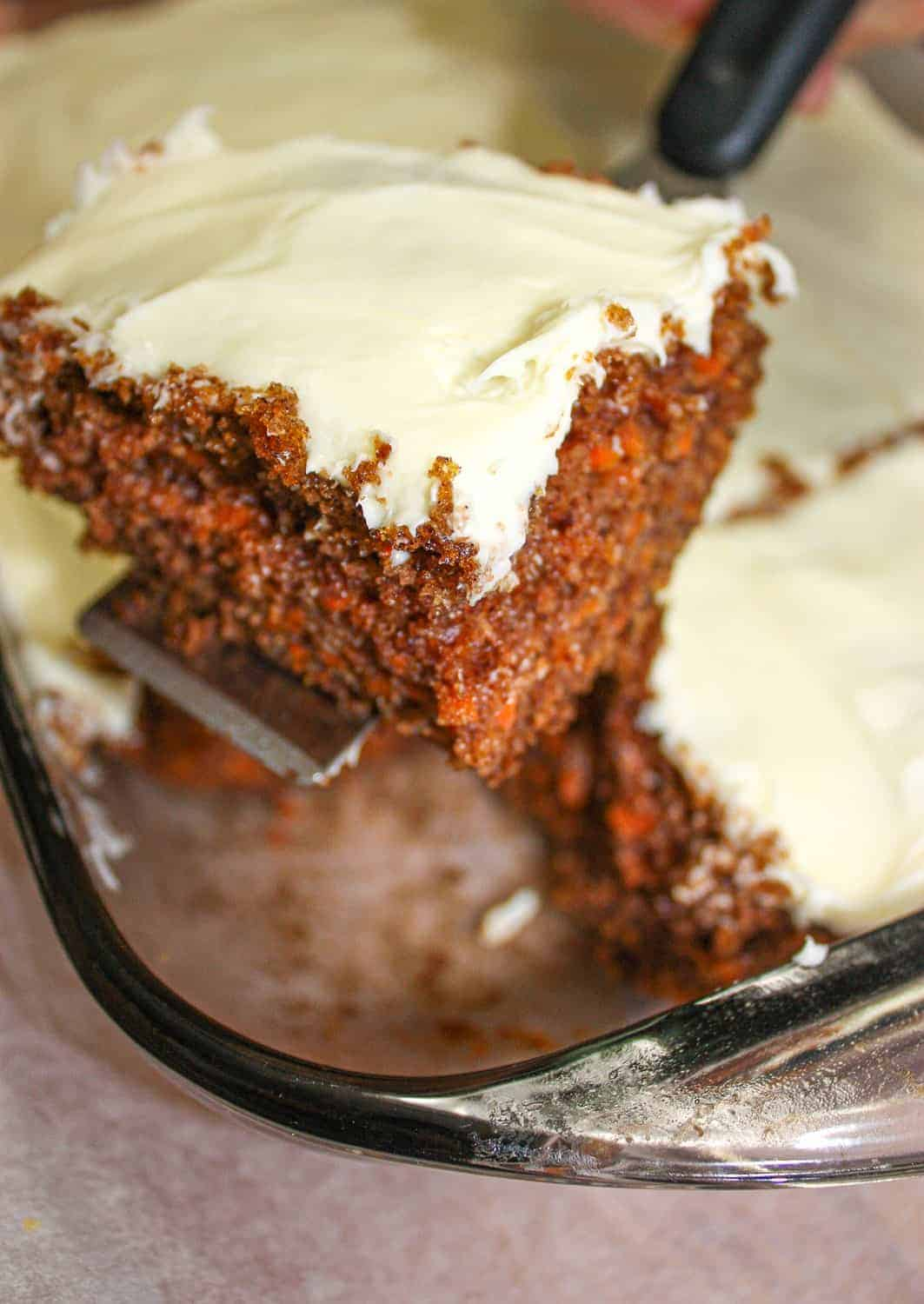 Carrot Cake is one of my all time favourites and this recipe, adapted from one my sister-in-law shared with me, will please everyone not just those that have to avoid gluten.