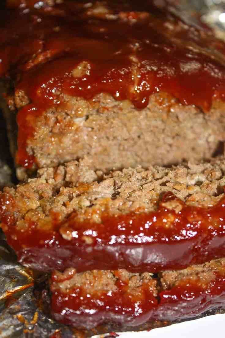 This classic Meatloaf recipe is an easy and quick recipe to prepare at the end of your day.  This version includes Gluten Free Breton Herb and Garlic crackers.